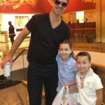 Isabella with Nicolas with Robin Thicke and IzzyPop