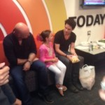 Meeting with Train at the Today Show